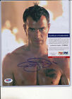 PSA DNA SIGNED 8X10 PHOTO JUSTIN THEROUX P953