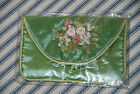 Vintage Floral Design Coin Purse -- Vintage Accessories