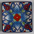 Tabletops Unlimited TOLUCA Blue Center Square Salad Plate 10562736