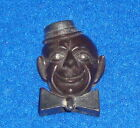 Vintage Black Americana Cast Iron Pencil Sharpener Made in Germany