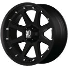 17x9 Black XD XD798 Wheels 5x55 12 Lifted CHEVROLET TRACKER