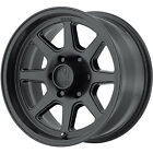 16x8 Black XD XD301 Turbine Wheels 5x55 +0 Fits Chevrolet Tracker