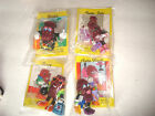 NIP California Raisins 1991 PVC Figures Applause Calrab Hardees