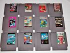 Lot of 12 NES Games - Nintendo Super Mario Bros Time Lord Gyromite MLB Jordan