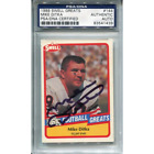 Mike Ditka Autographed 1989 Swell Greats Card (PSA DNA)