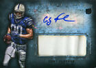 Coby Fleener Autographed 2012 Topps Inception Rookie Jersey Card