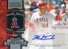 Mark Trumbo Autographed 2013 Topps Chasing History Card
