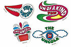 Four 4 Uncola 7 Up Seven Up Peel Off the Back Stickers Decal
