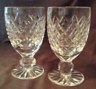 Tyrone Crystal Sperrins Set of 2 Clear Glasses