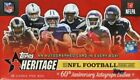 2015 TOPPS HERITAGE FOOTBALL BOX