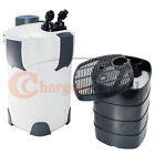 200 Gallon Aquarium Canister Filter UV 9w UV Sterilizer Fish Tank SUNSUN HW-304B
