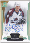 14-15 The Cup Rob Blake 5 5 Auto Gold Avalanche 2014