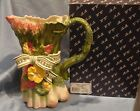 Fitz and Floyd Herb Garden Pitcher With Box 9 1/2