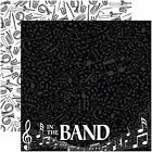 Reminisce BAND 12x12 Dbl Sided 2 Scrapbooking Papers MUSIC INSTRUMENTS