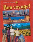 Bon Voyage Level 1 Student Edition by McGraw Hill Glencoe Hardcover Book Engl