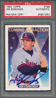 1993 Topps #799 Jim Edmonds PSA DNA Certified Authentic Auto Signed *1953