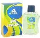 GET READY ! Adidas men cologne edt 3.4 oz 3.3 NEW IN BOX