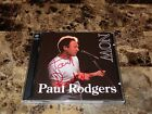 Paul Rodgers Rare Hand Signed Now & Live 2 CD Set Bad Company Queen The Firm !!!