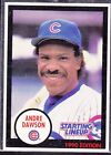 1990  ANDRE DAWSON - Kenner Starting Lineup Card - Chicago Cubs - (BLUE)