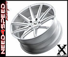 20 XO Sydney Silver Brushed Concave Wheels for Nissan Altima Maxima Coupe