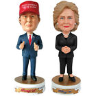 NEW Set Donald Trump  Hillary Clinton 2016 Presidential Candidate Bobbleheads