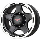 16x85 Black Level 8 ZX Wheels 5x55 6 Lifted CHEVROLET TRACKER
