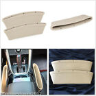 PU Leather Catch Catcher Storage Organizer Box Car Seat Gap Leak-Proof Holder X2