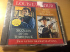 Louis L'Amour McQueen Of the Tumbling K /West of the Tularoses AUDIO cd SEALED