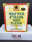 What Your Fourth Grader Needs to Know ED Hirsch elementary studies education