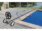 21 ft Pool Cover Reel Swimming Tube Set Solar Cover Inground Stainless Steel