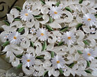 Field of Daisies Lace Doily Daisy 44 Runner Flower White Floral
