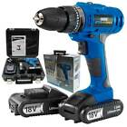 Draper Storm Force Cordless Hammer/Rotary Drill Power Tool Bundle (18V)