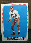 1964 Topps Football Cards 9