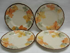 SET of FOUR (4) FRANCISCAN CHINA - OCTOBER Pattern - 8