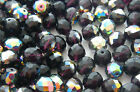 1200 PCS WHOLESALE 6mm CZECH GLASS FIRE POLISH BEADS DK AMETHYST VITRAIL