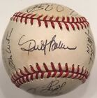 1996 SAN FRANCISCO GIANTS Team Signed Autograph Baseball BARRY BONDS M WILLIAMS