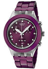 New Swatch Irony Full Blooded Blueberry Chrono Date Watch 43mm SVCK4048AG $160