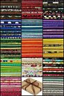 10 FQ Fabric Bundle CHARM PACK Packs 100 COTTON Quilting Fabric 18x22