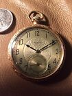 antique elgin pocket watch 15 Jewel Monogram ARH 1927 Double Rolled Gold Case