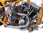 Chrome 2 into 1 Lake Pipes Exhaust Headers 70Up Harley Shovelhead Custom Chopper