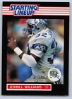 1989  JOHN L.WILLIAMS - Kenner Starting Lineup Card - SEATTLE SEAHAWKS