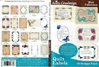 Anita Goodesign Quilt Labels Embroidery Machine Design CD NEW 96MAGHD