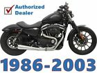 Stainless Steel Bassani 2 into 1 Road Rage III SS3 Exhaust Pipe Harley Sportster