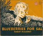 Blueberries for Sal by Robert McCloskey vintage FIAR Five in a Row