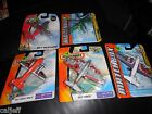 5 LOT DIECAST MATCHBOX SKY BUSTER BLADE FORCE SEA PLANE SKY DROP FORCE HERO CITY