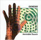 1 CENT CD Invisible Touch - Genesis (U.K. Band) JAPAN-MADE DISC