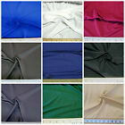 Discount Fabric Polyester NEOPRENE SCUBA TECHNO 4 way Stretch Choose Your Color