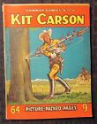 1950's? COWBOY COMICS #154 VG+ 4.5 Kit Carson UK 64 Picture Packes Pages Western