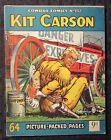 1950's? COWBOY COMICS #152 VG/FN 5.0 Kit Carson UK 64 Picture Packes Pgs Western