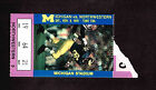 1991 MICHIGAN WOLVERINES vs NORTHWESTERN WILDCATS Ticket Stub NCAA